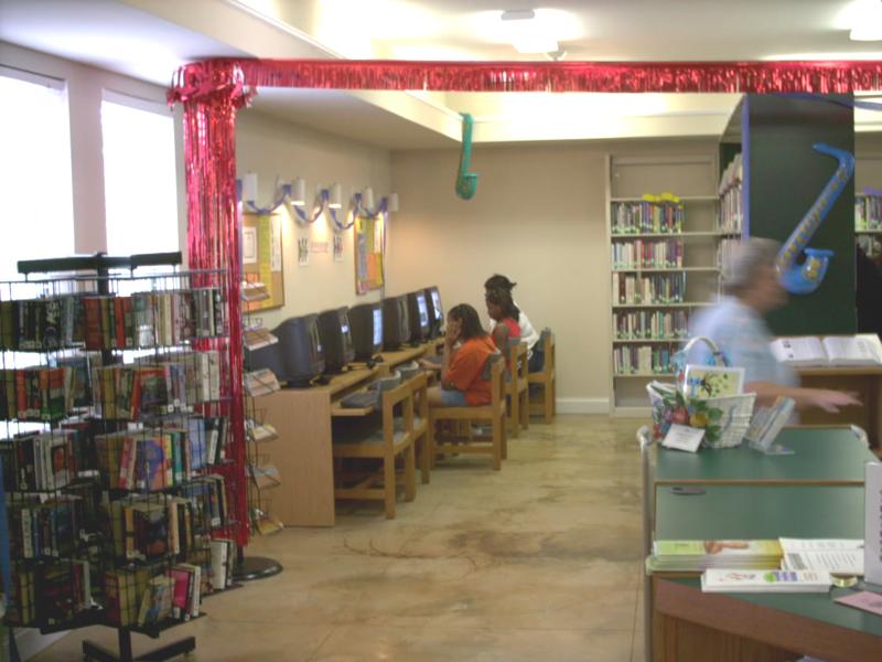 Yatesville Public Library Touryatesville town